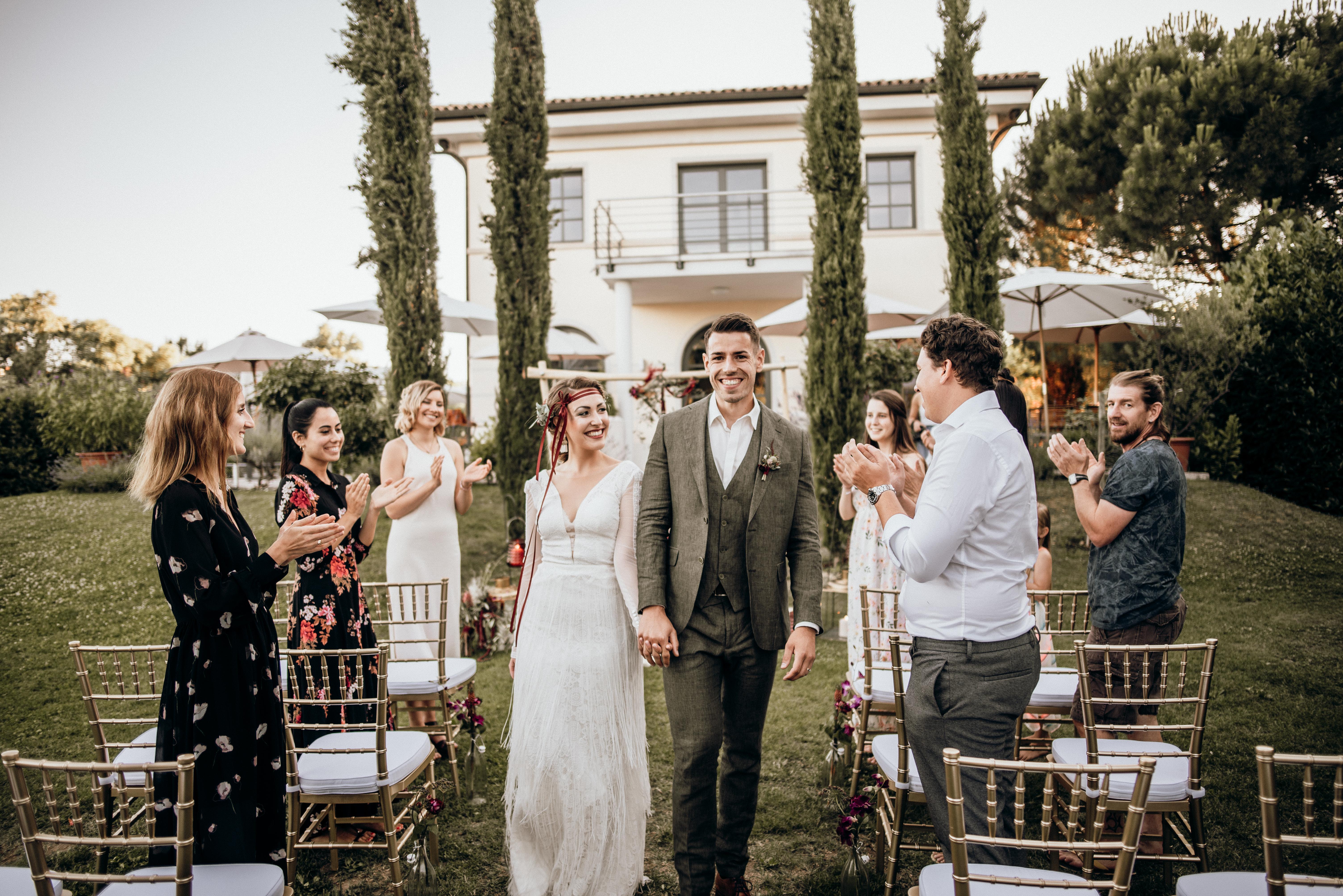 Hochzeit auf dem Weingut Mussler in Bissersheim